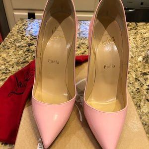 So Kate 120 Patent Christian Louboutin Pale pink